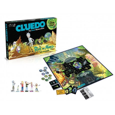 Cluedo Rick y MOrty