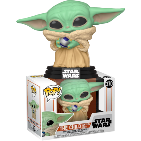 Child Baby Yoda concerned triste Funko Pop 384 Mandalorian Star Wars