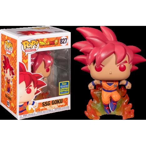 Funko Pop Dragon Ball Super - SSGSS Goku Kamehameha Metallic