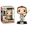 Rey Yellow saber sable amarillo Skywalker Funko Pop Star Wars 432