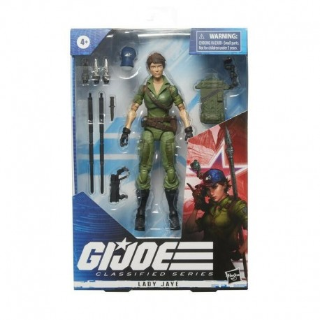 Figura Lady Jane Gi Joe GIJoe Classified Series