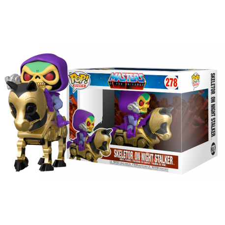 RESERVA Skeletor on Panthor Masters Universo Pop Funko