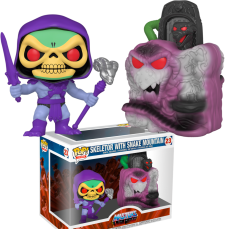 RESERVA Skeletor on Night Stalker Masters Universo Pop Funko