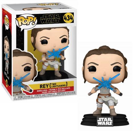 Rey Yellow saber sable amarillo Skywalker Funko Pop Star Wars 432