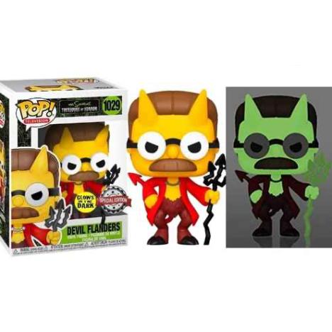 Devil Flanders Funko Pop 1029 Simpsons