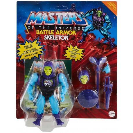 Figura He-Man Battle Armor Masters Universo Origins 14cm