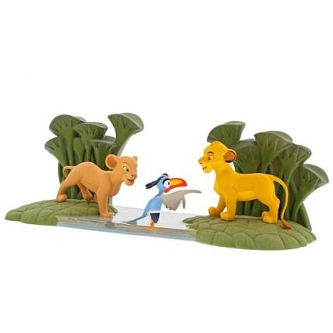 Figura Simba y Mufasa Rey León Father´s pride