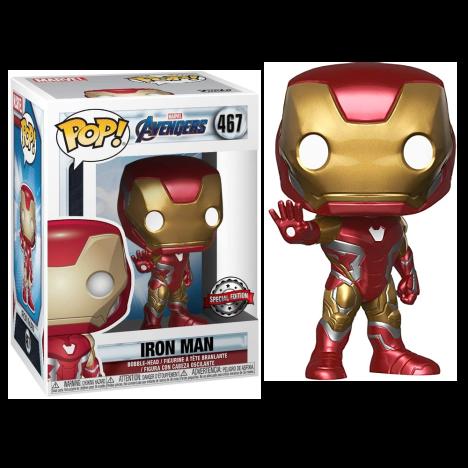 Iron Man num 467 Endgame Avenger Vengadores Funko Pop
