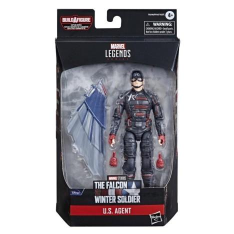 Barón Zemo Capitán America Falcon Soldado Invierno figura Marvel Legends