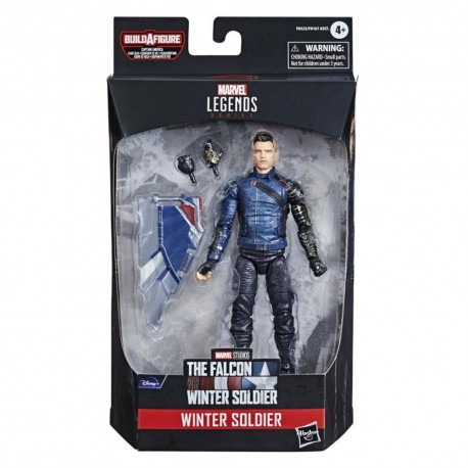 U.S. Agent Capitán America Falcon Soldado Invierno figura Marvel Legends