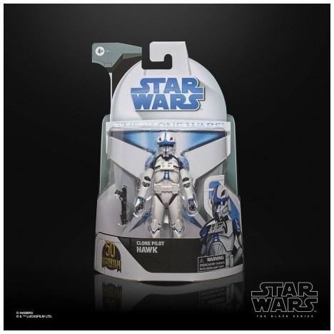 Arc Trooper Echo Clone Wars 50th aniversario Lucasfilm Black Series Star Wars