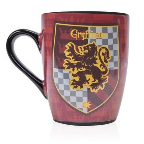 Taza sombrero seleccionador Gryffindor Harry Potter termica sensitiva calor