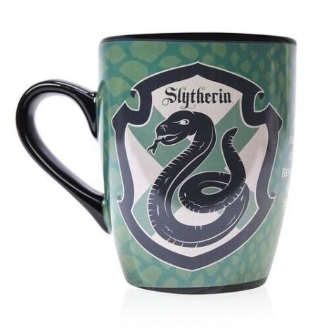 Taza sombrero seleccionador Slytherin Harry Potter termica sensitiva calor
