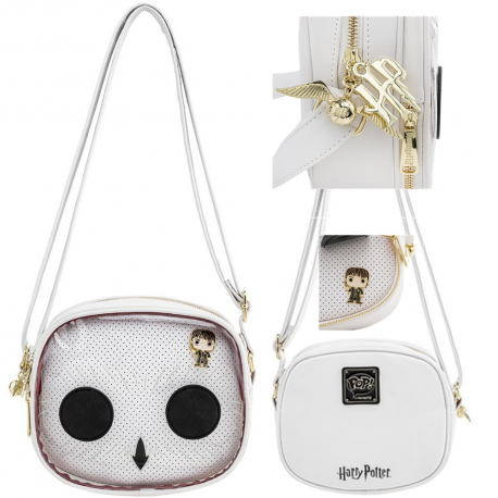 Bolso Pin trader Hedwig Harry Potter con pin Loungefly
