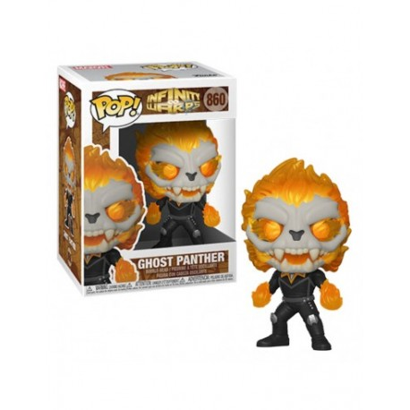Ghost Panther 860 Funko Pop Marvel Infinity Warps