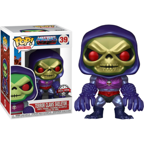 Skeletor Trono on Throne Masters del Universo Beast-Man Pop Vinyl Funko